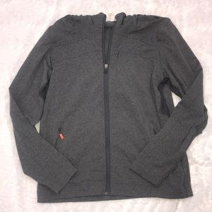 Men's lululemon full zip jacket with hood